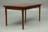 Dining table in rosewood. Design from Denmark.