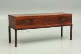 Odder furniture and Aksel Kjersgaard, Denmark. Low drawer in rosewood.