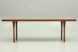 Coffee table in rosewood. Design by Ditzel. production by S.Willadsen, Vejen, DK. Danish vintage design sofa table