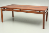 Dyrlund coffee table in rosewood. Designed around the late 1960s.