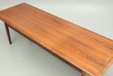 Coffee table in rosewood. Danish secondhand design.