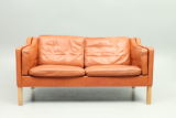 BM2212 sofa by Børge Mogensen and Fredericia Furniture, Denmark.