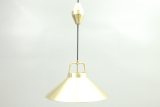 Lamp in brass by Frits Schlegel, Denmark. Lyfa production.
