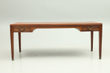 Coffee table in rosewood.